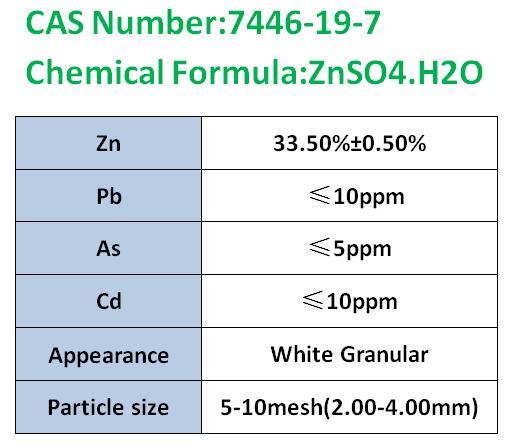 一水硫酸锌颗粒-1