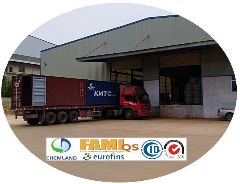 Loading Outside Warehouse